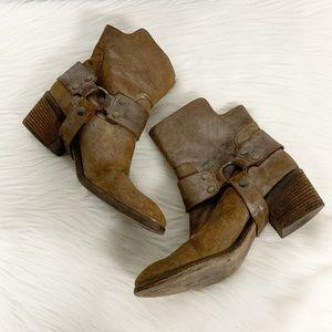 Donald J. Pliner   Dasha Western Couture Boots 8